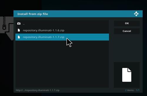 How to Install Spektra Kodi Build with Screenshots step 12