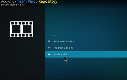 How to Install Team Pinoy Pilipinas Kodi Add-on with Screenshots step 21