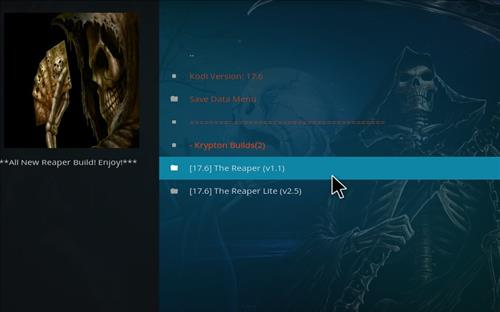 How to Install The Reaper Kodi Build with Screenshots step 17