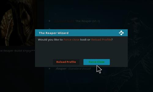 How to Install The Reaper Kodi Build with Screenshots step 21