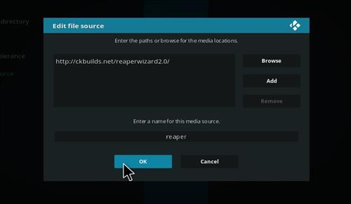 How to Install The Reaper Kodi Build with Screenshots step 7