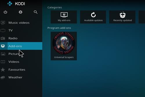 How to Install The Reaper Kodi Build with Screenshots step 8