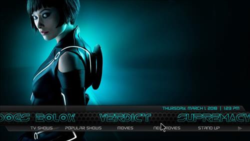 How to Install Tron Legacy Build Kodi 18 Leia pic 3