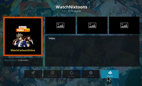 How to Install WatchNixtoons Kodi Add-on with Screenshots step 18