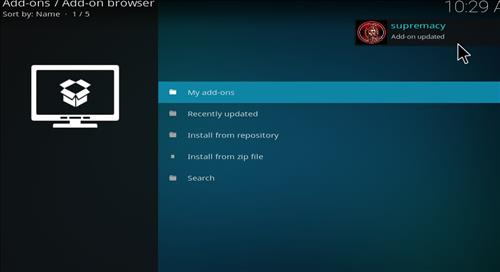 How to Install Yoda Kodi Add-on with Screenshots step 13