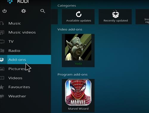 How to Install Yoda Kodi Add-on with Screenshots step 8