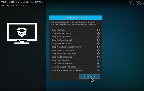 How to install Kodi Collusion Builds with Screenshots step 15