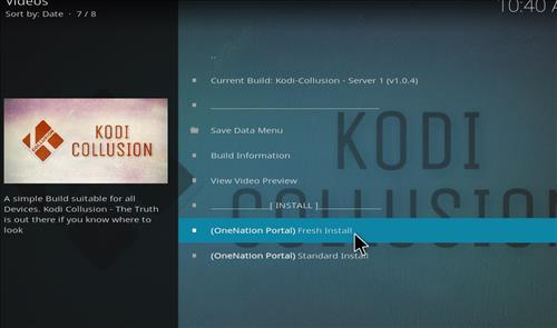 How to install Kodi Collusion Builds with Screenshots step 18
