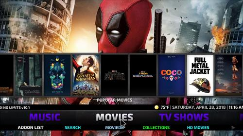Best Kodi Build For May No limits magic pic 1