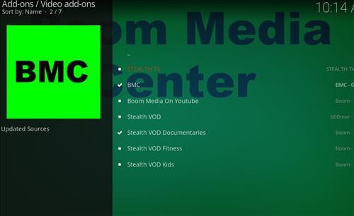 How to Install BMC Kodi Add-on with Screenshots step 17