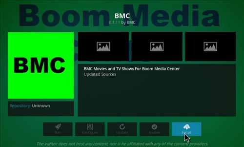 How to Install BMC Kodi Add-on with Screenshots step 18