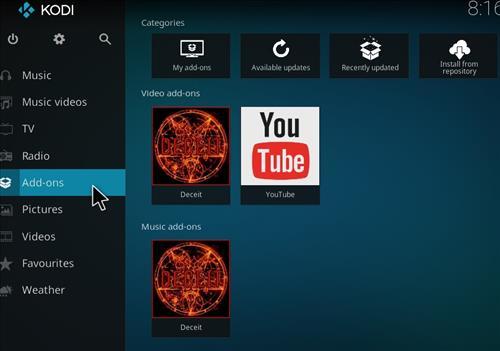 How to Install Deceit Kodi Add-on with Screenshots step 8