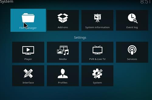 How to Install Emby Kodi Build Leia 18 step 2