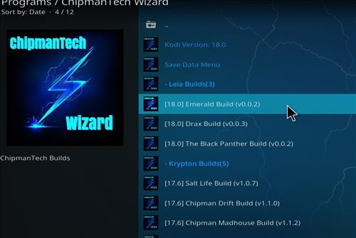 How to Install Emerald Kodi Build Leia 18 with Screenshots step 16