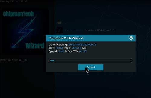 How to Install Emerald Kodi Build Leia 18 with Screenshots step 19