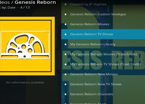 How to Install Genesis Reborn Add-on Kodi 18 Leia pic 2