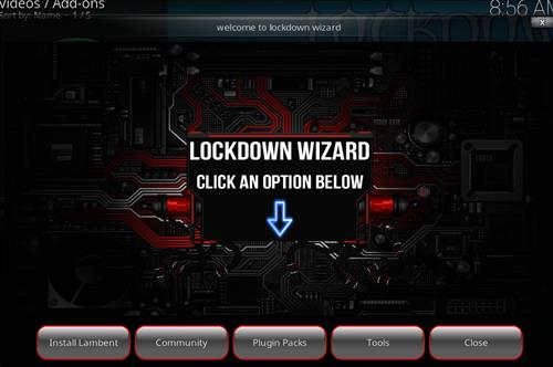 How to Install Lockdown Wizard Kodi Add-on with Screenshots pic 2
