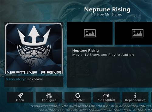 How to Install Neptune Rising Add-on Kodi 18 Leia With Screenshots
