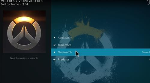 How to Install Overwatch Kodi Add-on with Screenshots step 17