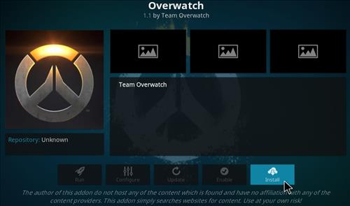 How to Install Overwatch Kodi Add-on with Screenshots step 18
