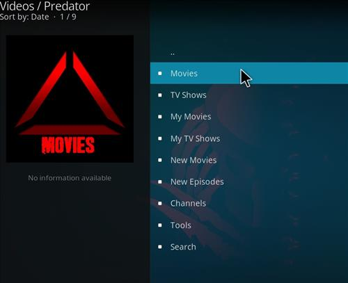 How to Install Predator Kodi Add-on with Screenshots pic 2