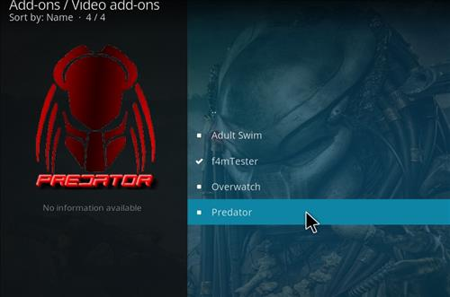 How to Install Predator Kodi Add-on with Screenshots step 17