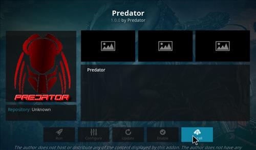 How to Install Predator Kodi Add-on with Screenshots step 18