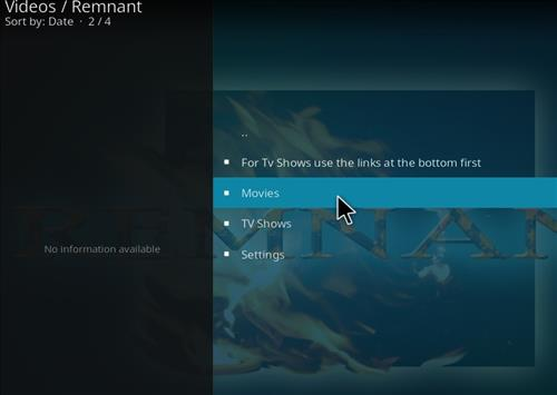 How to Install Remnant Kodi Add-on with Screenshots pic 2