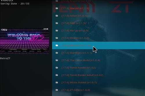 How to Install Retro ZT Kodi Build with Screenshots step 24