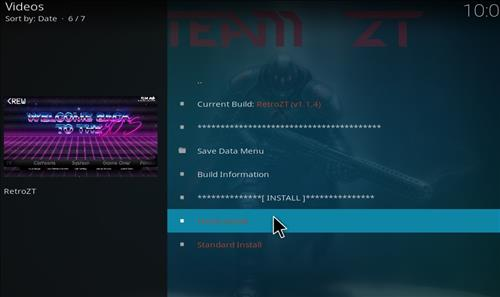 How to Install Retro ZT Kodi Build with Screenshots step 25