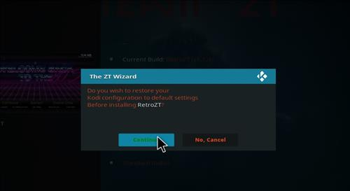 How to Install Retro ZT Kodi Build with Screenshots step 26