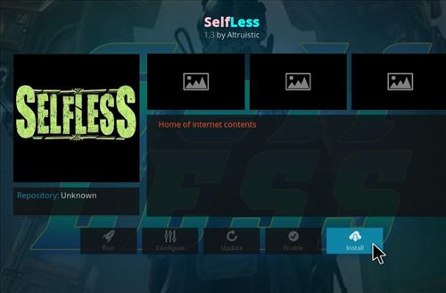 How to Install Selfless Kodi Add-on with Screenshots step 18