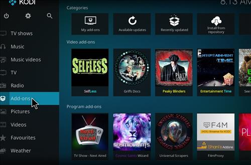 How to Install Selfless Kodi Add-on with Screenshots step 8