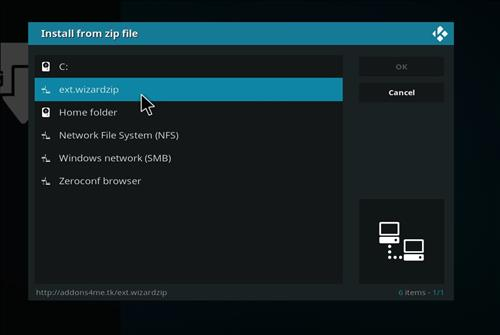 How to Install The Drax Kodi Build Leia 18 with Screenshots step 11