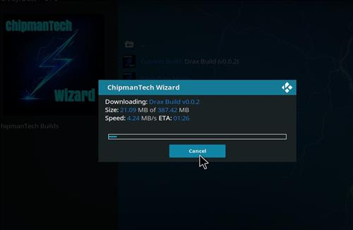 How to Install The Drax Kodi Build Leia 18 with Screenshots step 19