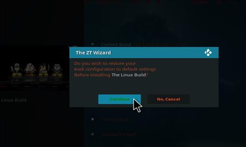 How to Install The Linux Kodi Build with Screenshots step 26