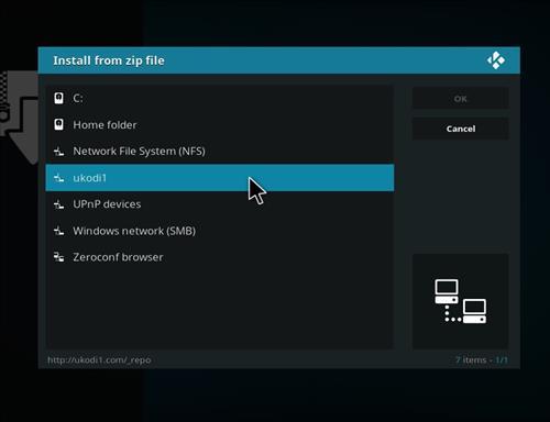 How to Install Tundra Kodi Build with Screenshots step 11