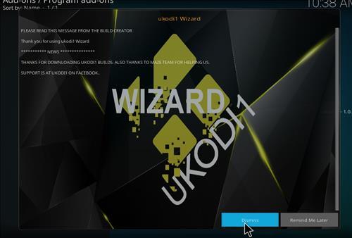 How to Install Tundra Kodi Build with Screenshots step 21