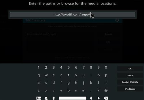 How to Install Tundra Kodi Build with Screenshots step 5