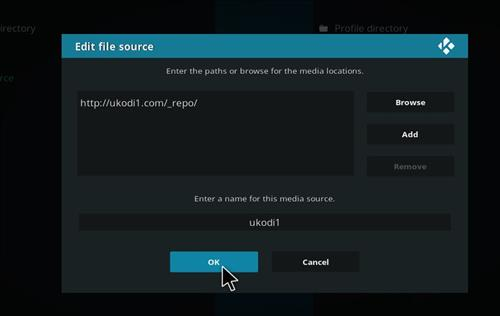 How to Install Tundra Kodi Build with Screenshots step 7