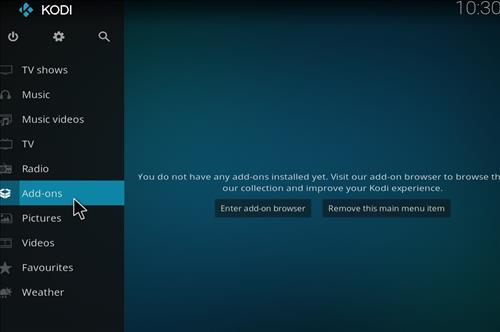 How to Install Tundra Kodi Build with Screenshots step 8