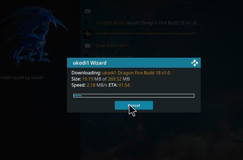 How to Install Ukodi1 Dragon Fire Kodi Build leia 18 step 27