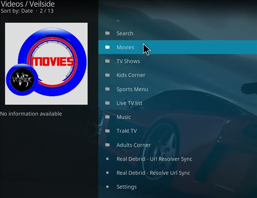 How to Install Veilside Kodi Add-on with Screenshots pic 2