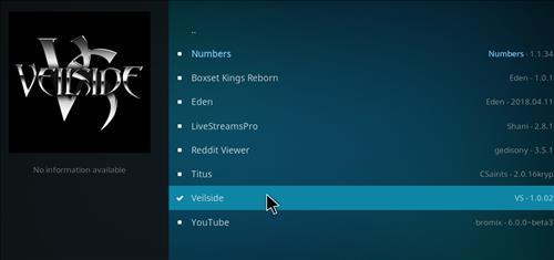 How to Install Veilside Kodi Add-on with Screenshots step 17