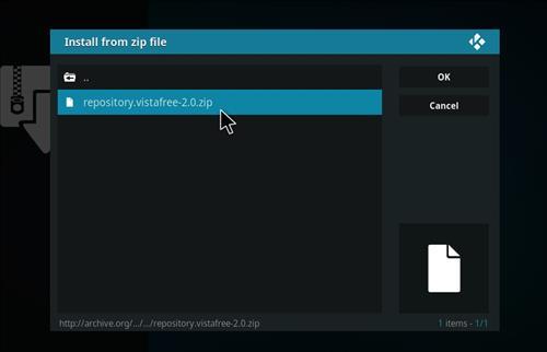 How to Install VistaTV Heaven Kodi Add-on with Screenshots step 12