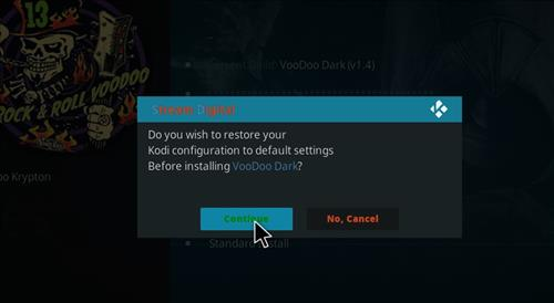 How to Install VooDoo Dark Kodi Build with Screenshots step 19