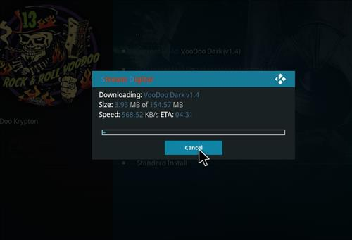 How to Install VooDoo Dark Kodi Build with Screenshots step 20