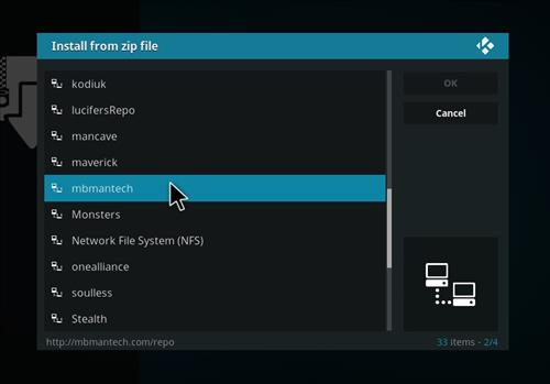How to Install X-onic Kodi Build With Screenshots step 11