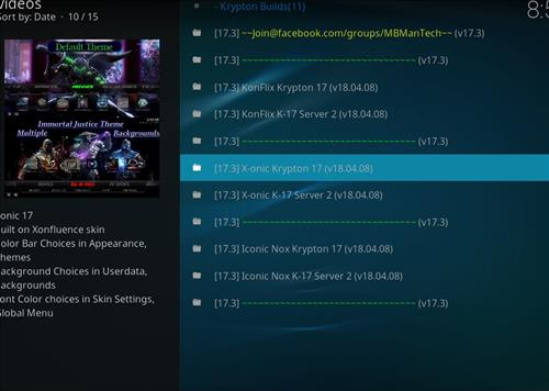 How to Install X-onic Kodi Build With Screenshots step 23