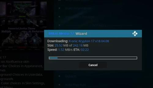How to Install X-onic Kodi Build With Screenshots step 25